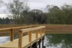 New Construction - Pier over the pond